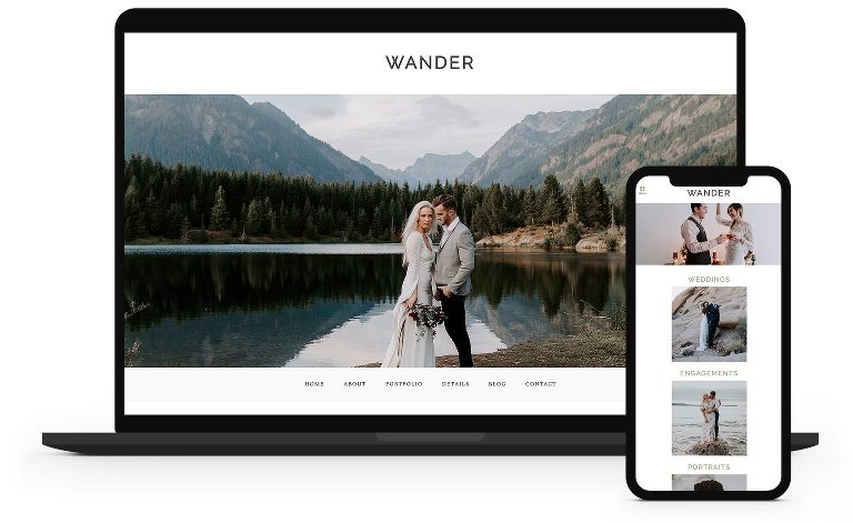 Wander ProPhoto 7 Template by La Lune Creative