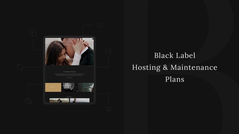 Black Label Hosting and Maintenance Plans by La Lune Creative